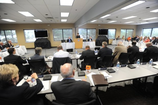 Penn State trustees meet in Scranton on July 13, 2